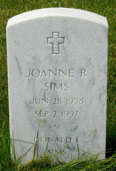 Joanne R Sims