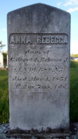 Anna Rebecca Anderson