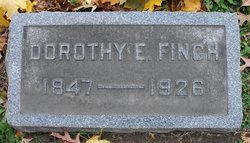 Dorothy Elizabeth <I>Finch</I> Van Sickle