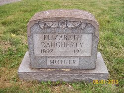 Elizabeth <I>Stoops</I> Daugherty