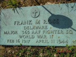 Maj Frank Moore Ross