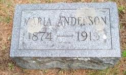 Maria Sofia <I>Berquist</I> Anderson