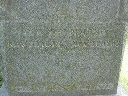 Daniel W. Drummond