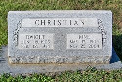 Dwight W Christian, Sr