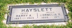 Harry A. Hayslett