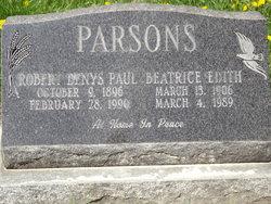 Robert Denys Paul Parsons