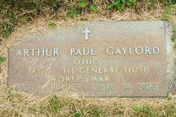 Arthur Paul Gaylord
