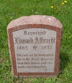 Rev Edward Albrecht