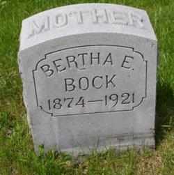Bertha E Bock