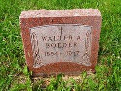 Walter A Boeder