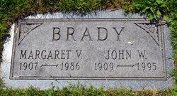 Margaret V Brady