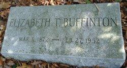 Elizabeth T. <I>Tripp</I> Buffinton