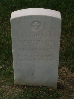 Pvt Anthony Anderson