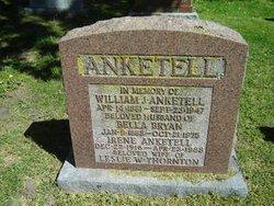 William j Anketell