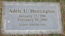 Adele U. Huntington