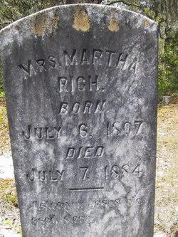 Martha <I>Phillips</I> Rich