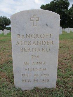 Bancroft Alexander Bernard