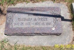 Barbara <I>Anderson</I> Price