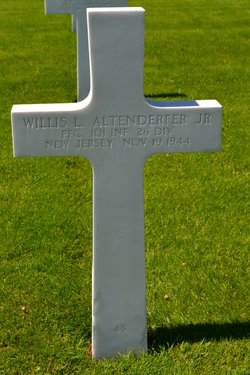 PFC Willis Loose Altenderfer, Jr