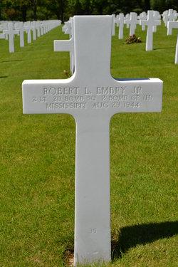 2LT Robert L Embry, Jr