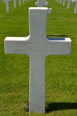 Sgt Joseph Charles Hajec
