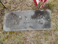 Anna Bell <I>Buzzell</I> Atkins