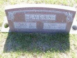 Alice Annie <I>Hughes</I> Evers