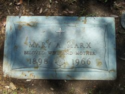 Mary Amelia Marx