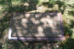 John Henning Bandt, Sr