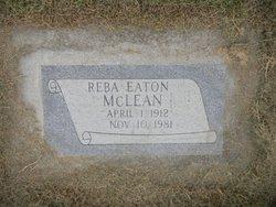 Reba <I>Eaton</I> McLean