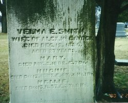 Velma Elizabeth <I>Smith</I> McGavock