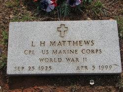 L H Matthews