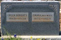 "Emma Annie ""Onie"" <I>Daniel</I> Roberts"