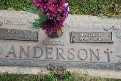 Maude Elisabeth <I>Guidry</I> Anderson