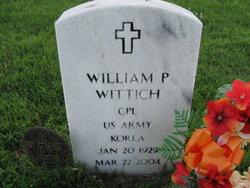 """William P """"Phil"""" Wittich"""