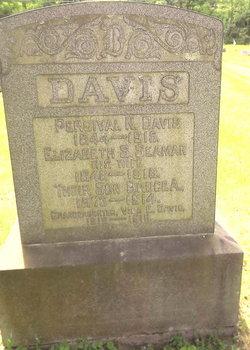 Elizabeth S <I>Seaman</I> Davis