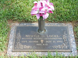 Myrtle Dell <I>Waltmon</I> Locke