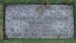 Pvt Wendell C Johnson