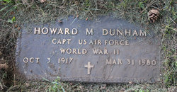 Capt Howard M Dunham