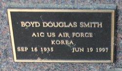 Boyd Douglas Smith