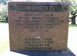 """Mary Harriett """"Minnie"""" <I>McRae</I> Wright"""