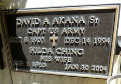 David A Akana, Sr