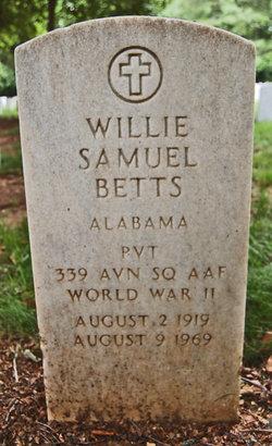 Willie Samuel Betts