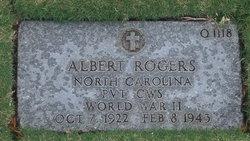 PVT Albert Rogers