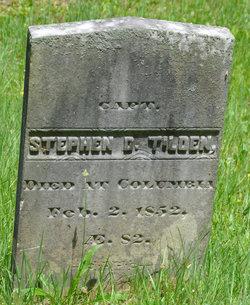 Capt Stephen Daniel Tilden