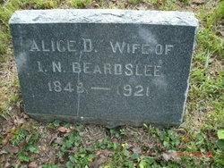 Alice D <I>Wright</I> Beardslee