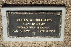 Allan Wedgbury Curthoys
