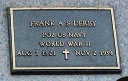 Frank A S Derby