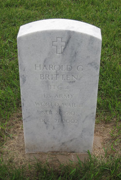 Harold G Britten