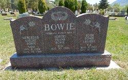 "Mercedes ""Sadie"" <I>Knight</I> Bowie"
